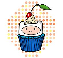 Finn the Cupcake by thereallifeznt