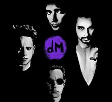 Depeche Mode : DM From Song Of Faith and Devotion - Purple by Luc Lambert