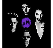 Depeche Mode : DM From Song Of Faith and Devotion - Purple Photographic Print
