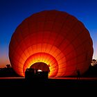 Balloon sunrise by Brent Randall