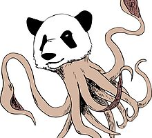 Squidpanda (T-shirt) by artfulscientist