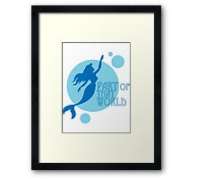 Part of That World Framed Print