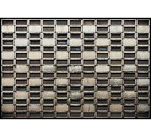 Binary Concrete Photographic Print