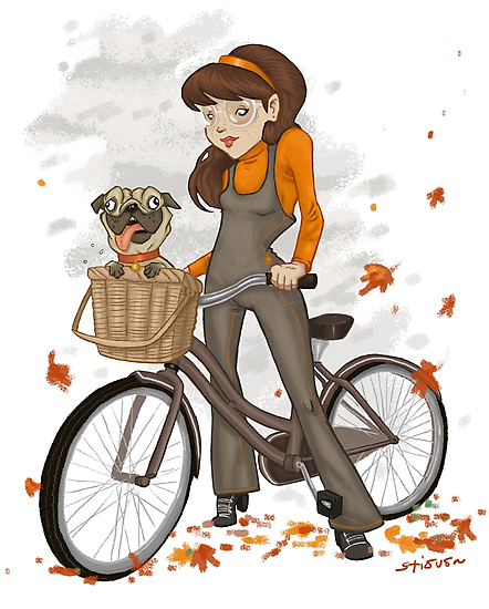 Autumn ride by Stieven Van der Poorten