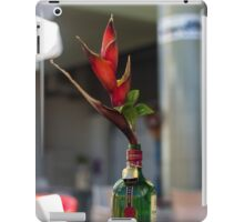 Red Heliconia/Birds of Paradise Flower - Nature Photography iPad Case/Skin