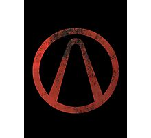 Borderlands - Symbol Photographic Print