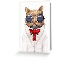 Astro Cat Greeting Card