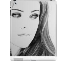 Kristen Stewart Minimal Portrait iPad Case/Skin