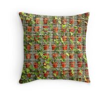 Potted Ivy Throw Pillow