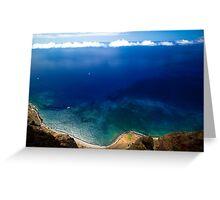 Wonderful Sea Coast - Nature Photography Greeting Card