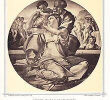 Holy family MICHELANGELO BUONAROTTI by Krzyzanowski Art