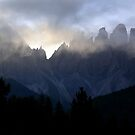 Mist in the Dolomites  by annalisa bianchetti