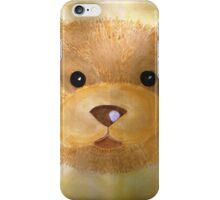Golden Teddy Friend iPhone Case/Skin