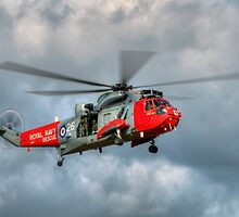 Royal Navy Search and Rescue Sea King Helicopter by © Steve H Clark