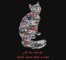 A cat can be much more than a cat! by Madalena Lobao-Tello