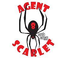 Agent Scarlet #8 Dub City Photographic Print