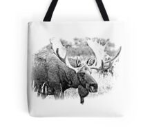 Bull Moose. Wildlife Moose. Moose Antlers. Canadian Moose. Alaskan Moose. Tote Bag