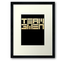 TEAM GWEN Framed Print