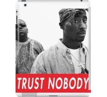 tupac and biggie iPad Case/Skin