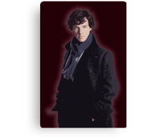 Benadryl Cumberbund as: Sherlock Canvas Print