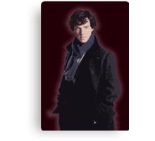 Benadryl Cumberbund as: Sherlock Canvas Print