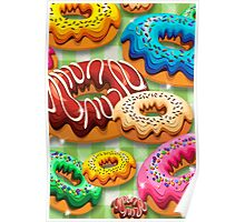 Donuts Party Time   Poster
