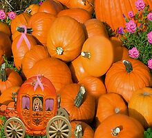 PUMPKINS AND CARRIAGE CANCER AWARENESS PILLOW AND OR TOTE BAG by ✿✿ Bonita ✿✿ ђєℓℓσ
