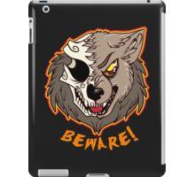 BEWARE! Werewolf iPad Case/Skin