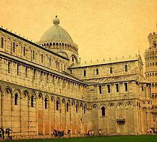 Leaning Tower of Pisa-Tuscany by Deborah Downes