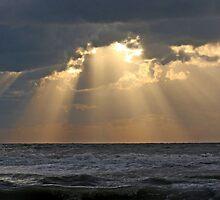 Gulf of Mexico Sunset by Maryna Gumenyuk