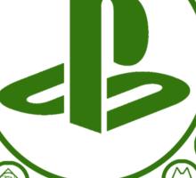 Playstation Battle Royale School (Green) Sticker