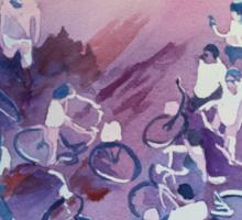 Bike Tour Sticker