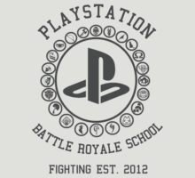 Playstation Battle Royale School (Grey) by Nguyen013