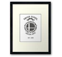 Smash School United (Grey) Framed Print