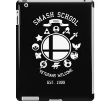 Smash School Veteran Class (White) iPad Case/Skin