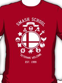 Smash School Veteran Class (White) T-Shirt