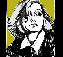 Greta Garbo Portrait  by CecelyBloom
