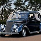 1937 Ford Four Door Sedan III by DaveKoontz