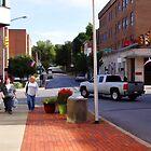 A city street scene by vigor