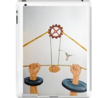 The vulnerable part of mechanisms iPad Case/Skin
