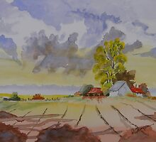 Farm Colors by Warren  Thompson