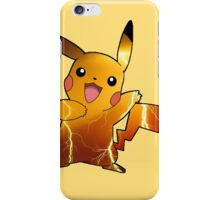 Pokémon - Pikachu (no backgroud) iPhone Case/Skin