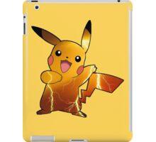 Pokémon - Pikachu (no backgroud) iPad Case/Skin