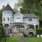 Castle House in Harbor Springs by John Carpenter