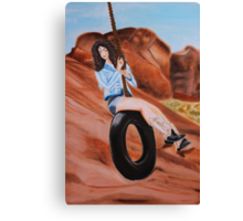 Swinging dreams Canvas Print