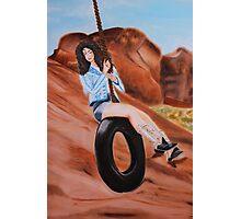 "Lana Del Rey ""Ride"" Painting  Photographic Print"
