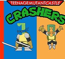 teenage mutant castle crashers by maxwelltitan