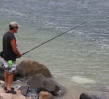 Summertime Fisherman by Gilda Axelrod