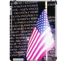 IN MEMORY OF   ( The Vietnam Memorial) iPad Case/Skin