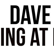 Dave is drumming at my house. by TotalPotencia